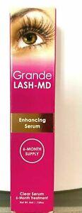 GrandeLASH-MD Grande Lash Enhancing Serum 6 month Supply 4ML NEW exp 03/2023