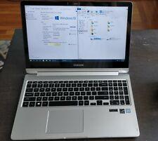 "Samsung Notebook Spin 7 15.6"" Intel i7 12GB RAM 250GB SSD + 1TB HDD Touchscreen"