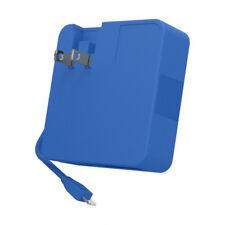 NEW TYLT ENERGI 6K Portable Power Pack 6000mAh USB & M-USB Blue EU UK adapters