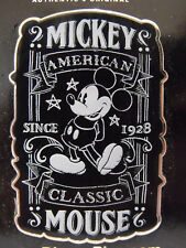 2014 Disney Trading Pin Chalk Sketch Mickey Mouse American Classic NOC
