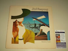 Paul Rodgers Signed Bad Company Album Record LP JSA #J55113 Authenticated