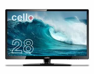 "CELLO M22820 28"" INCH FULL HD LED MONITOR PC DISPLAY HDMI VGA 60Hz 6.5MS 3000:1"