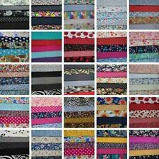 100% Cotton Fabric Bundles Fat Quarters Squares Craft Sewing Floral Material