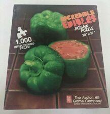 Incredible Edibles: Pepper Tomato, 1000 Pc. Puzzle