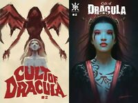 CULT OF DRACULA #2 Main Cover + Shannon Maer Variant Set Sourcepoint NM 4/28 Pre