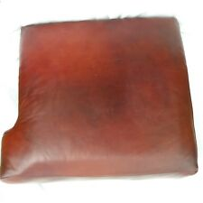 Lane Leather LEFT FACING Red Brown Marble Replacement Sofa Love Seat Cushion