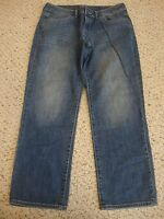 Women's SIMPLY VERA VERA WANG straight jean capris pants, 10