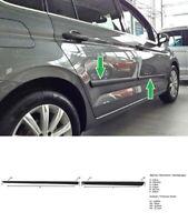 Zierleiste Seitenschutz Türschutz Rammschutz Leisten für VW Touran II 5T 2015-