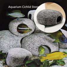 New 2020 Cichlid Stone Ceramic Rock Cave Aquarium Fish Tank Ornament Decoration