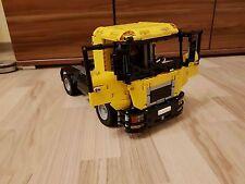 Bauanleitung instruction Truck LKW MAN  Eigenbau Unikat Moc Lego Technic 42043