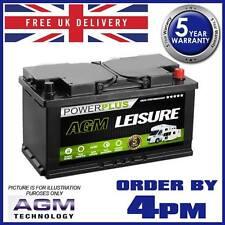 Camper Van Leisure Battery AGM LP120 120ah Deep Cycle