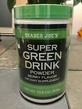 Trader Joe's Super Green Drink Powder Dietary Supplement (Berry Flavor)