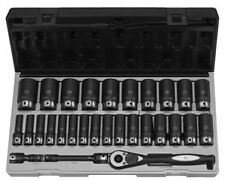 "Grey Pneumatic 82629Md 1/2"" Drive 6 Point 29 Piece Metric Deep Duo Socket Set"
