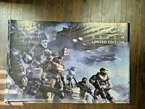 HALO REACH - Limited Edition 2010 Microsoft Game Poster Rare FAST SHIPPING