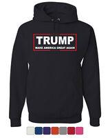 TRUMP Hoodie Make America Great Again Sweatshirt