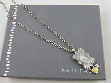 Silpada Sterlng Silver Rep Exclusive 2015 Reversible Paris Fleur de lis Necklace