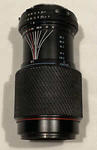 Tokina Zoom Lens SD 70-210mm f1.4-5.6 for Minolta MD Mount-LENS CAP NOT INCLUDED