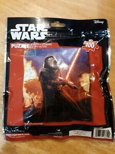 Star Wars The Force Awakens 100 Piece Puzzle Kylo Ren Disney Lucas Films - New