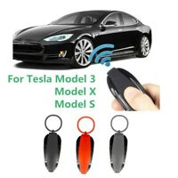 1pc Car Key Case Protective Cover Fob Shell Holder Durable For Tesla Model 3 S X