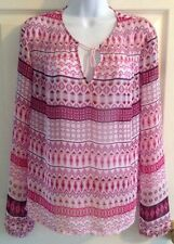 Decree Women's Drawstring Poncho Dress Shirt Small MSRP $34 B2