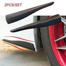 Carbon Fiber Car Bumper Door Edge Anti Scratch Crash Strips Cover Trim Accessory
