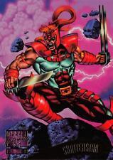 SHATTERSTAR / 1995 Marvel Masterpieces (Fleer) Base Trading Card #144