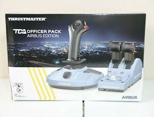 NEW Thrustmaster TCA Officer Pack Airbus Edition Windows IN HAND SHIPS ASAP