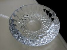 """WATERFORD CUT CRYSTAL COLLEEN ASHTRAY  7"""" DIAMETER"""
