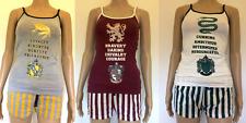 Harry Potter Women's Slytherin or Gryffindor Shorts/Vest Set Pyjamas Primark