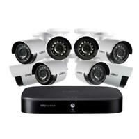 Lorex DP181-82NAE 8-Channel 1080p with DVR 1TB HDD Surveillance System and 8