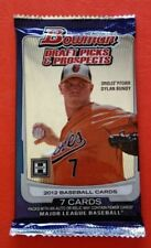 2012 Bowman Draft Picks & Prospect Baseball Hobby PK X2 Lot Harper Correa RC ?