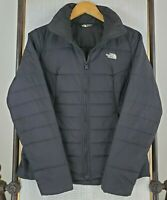 THE NORTH FACE Size Small Womens Black Channel Quilted Poly Isulated Jacket Coat