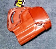 Tagua S&W 9mm M&P compact M&p9C .40 RH LEATHER Holster Brown OWB RIGHT HAND SOB