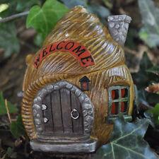 Magic escargot shell maison décoration de jardin lumière led woodland home elf pixie 39206