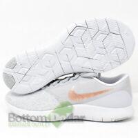 Nike 908995-006 Women's Flex Contact Running Shoes Wolf Grey/ Rose Gold (8.5)