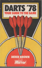 DARTS '78 YOUR GUIDE TO THE GAME BY DEREK BROWN OF THE DAILY MIRROR FIRST ED PB