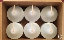 PartyLite Relax Votive Candles V06142 New 6 Nib Well Being Eucalyptus Spearmint