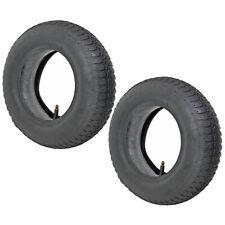More details for 2 x wheelbarrow wheel inner tube and barrow tyre 3.50 - 8 rubber innertube 35psi