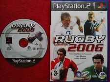 Rugby Challenge 2006 Disco Y Estuche Original Black Label PS2 PAL