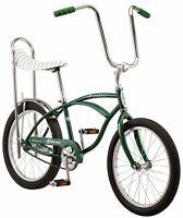 "20"" Schwinn Sting-Ray Bicycle, Stripe Banana Seat Bike, Single Speed, Green"