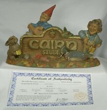 Tom Clark Gnome Greetings mold number 57 very good condition Coa