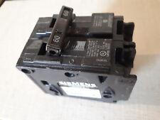 Siemens 2 Pole 60 Amp 120/240 Volts Type QP Circuit Breaker (2p60)