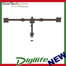 STARTECH Desk-Mount Triple Monitor Arm - Articulating