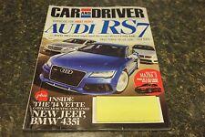 CAR AND DRIVER AUDI RS7 OCTOBER 2013 VOL.59 #4 9248-1 [BOX H] #1128
