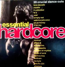 ESSENTIAL HARDCORE CD- 1 X UNMIXED CD OLDSKOOL 90S RAVE HOUSE DANCE CDJ CD DJ