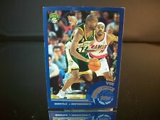 Vin Baker Topps 2002 Card #157 Seattle SuperSonics NBA Basketball