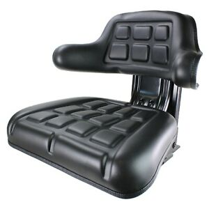 E-TY24764 Wrap Around Black Tractor Seat for John Deere 820, 920, 940, 1020 +++