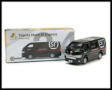 TINY 24 Toyota Hiace SF Express Van 1/64 DIECAST CAR  HONG KONG CITY NEW