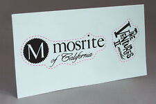 MOSRITE  THE VENTURES MODEL 2 1965 WATER SLIDE DECAL GUITAR HEADSTOCK RESTORE