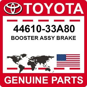 44610-33A80 Toyota OEM Genuine BOOSTER ASSY BRAKE